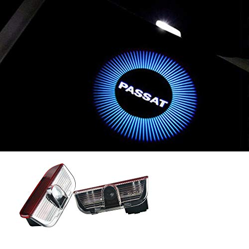 HITSAN INCORPORATION 2pcs LED Car Door Logo Light Laser Door Shadow Led Projector Lights For Volkswagen VW Passat B7 B6 Car-styling Accessories (Projector Passat)