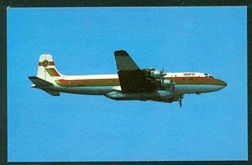 Butler Aircraft Company Fairbanks Alaska International Airport Airplane Postcard (Best Ports In Alaska)