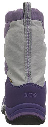 Keen Winterport II WP, Botas de Nieve Unisex Niños Morado (Purple Plumeria/alloy)