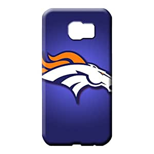 samsung galaxy s6 edge Durability Plastic Hot New mobile phone carrying shells denver broncos