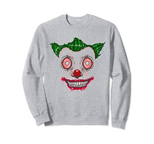 Scary Clown Face Monster, Fun Halloween Face Costume Design