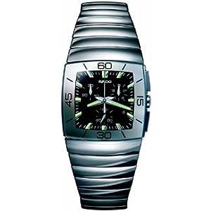 Rado Sintra Black Dial Chronograph Mens Watch R13434172