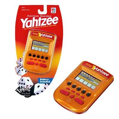Yahtzee Electronic Hand-held [Gold] by Hasbro