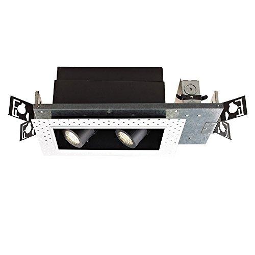Wac Lighting MT4LD216NE-S927-BK LED Precision Multiple Tw...