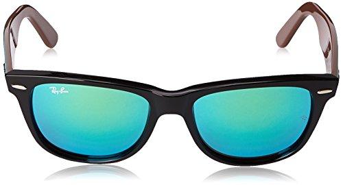Unisex de Ban Ray 54 Sol Multicolor Grün MOD mm Gafas Schwarz Braun 2140 Y1wqFgY