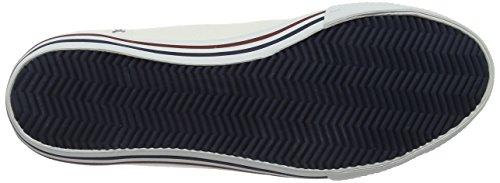 Helly Hansen 2017 Hommes De Chaussures De Toile Fjord - Blanc / Prune / Soir Bleu - 10772_002 Blanc Cassé / Prune / Bleu Soir