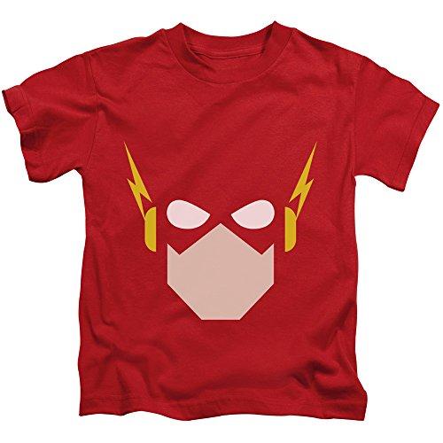 Justice League of America DC Comics The Flash Chiseled Head Little Boys T-Shirt