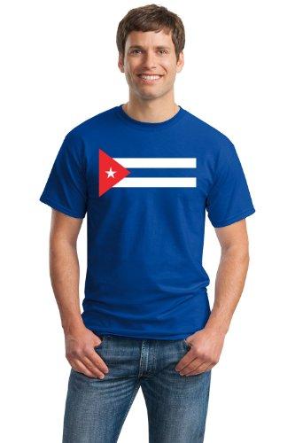 CUBAN NATIONAL FLAG Unisex T-shirt / La Bandera de Cuba, Havana Camiseta Tee