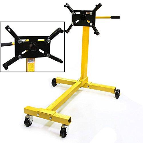 Price comparison product image New Shop Engine Stand 1000lb Pro Hoist Automotive Lift Rotating 4 Leg Type Motor