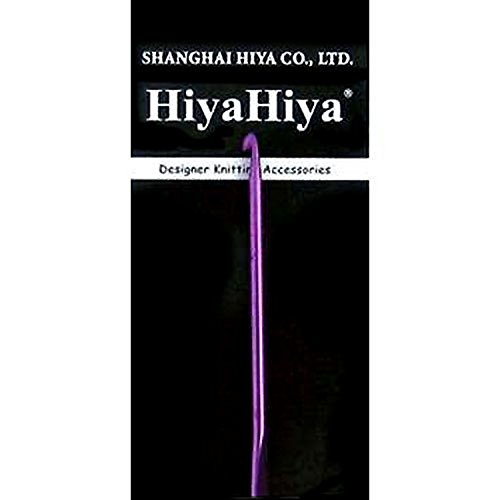 HiyaHiya Crochet Hook 6 inch (15cm) Aluminum Size US I (5.5mm) HIALCRO6-I