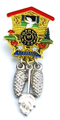 Cuckoo Clock German Hat Pin