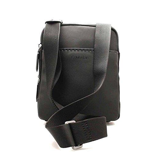 Spalla A H Nero Uomo T Cm Klein 5x25x20 Task Flat X Tech Calvin Multi Crossover Borse Jeans black b zqTPfw8
