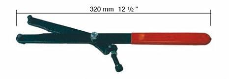BUZZETTI - 19563 : Herramienta Universal Para Bloquear Volante Y Poleas Con Pins 5/9Mm