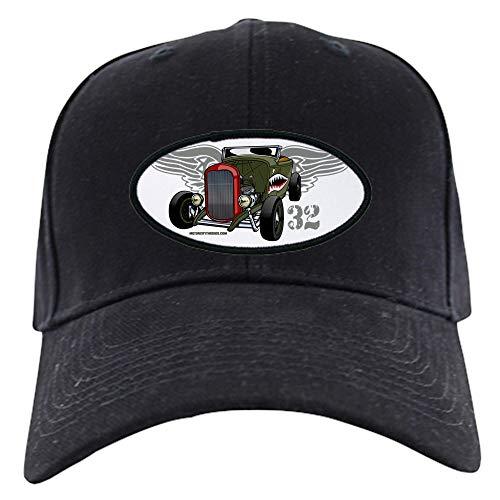 (CafePress Flying Tiger 32 Deuce Tribute Black Cap Baseball Hat, Novelty Black Cap)