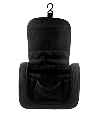 Best Cheap Deal for TedGem Portable Toiletry Bag?Travel Toiletry Bag, Personal Organize Cosmetic Bag for Men, Hanging Toiletry Travel Kit Organizer, Black from TedGem - Free 2 Day Shipping Available