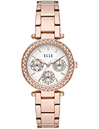 Marais Multifunction Rose Gold-Tone Stainless Steel Watch
