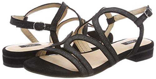 1 Sandals Bella black Black Street 33 Sling Women's Back Schraut Steffen CWqpvv