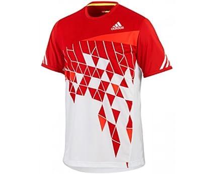 Adidas AdiZero Herren Tennis T Shirts Oberteile Sport Training Court Freizeit Tennisbekleidung Tops ClimaCool Formotion kurzärmlig SS Tees Männer