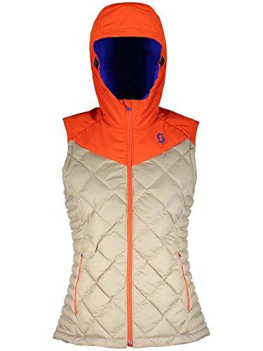 Scott fawn Red Primaloftweste Femmes Vest bronzage Insuloft Moroccan Beige orange 3m zqgwrza