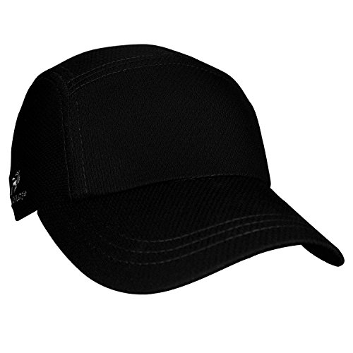 Brooks Running Hat (Headsweats Performance Race/Running/Outdoor Sports Hat, Black)
