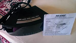 nelsonic alarm clock radio manual