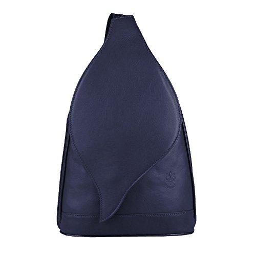 Only Dunkelblau 22x36x10 ca cm Sac pour porté Couture Marron dos au Beautiful main OBC femme chocolat à BxHxT 17x28x9 TdxqnOFwF6