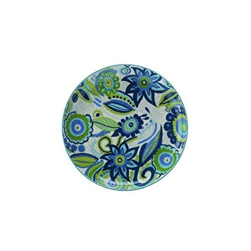 Christopher Vine Linea Gypsy Small Plate in Porcelain 18.5 cm Blue