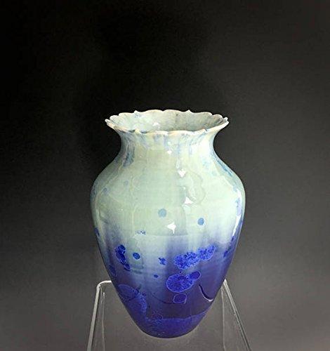 Amazon.com: Decorative Ceramic Vase, Handmade Pottery Vases ... on handmade pottery, handmade bangles, handmade pet bowls, handmade plaques, handmade toys, handmade wallets, handmade glass bowls, handmade baskets, handmade boxes, handmade games, handmade pendants, handmade tiles, handmade jewelry, handmade tea bowls,
