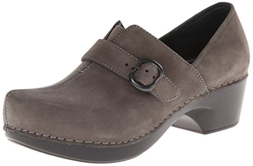 Dansko Women's Tamara Dress Pump,Grey Nubuck,37 EU/6.5-7 M US by Dansko