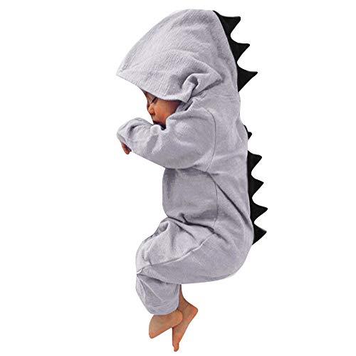 Newborn Toddler Baby Girls Boys Dinosaur Hoodie Pajamas 12-18 Months Clothes