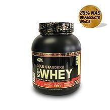 Optimum Nutrition 100% Whey Gold Standard, Doble Chocolate, 2.4 Lb