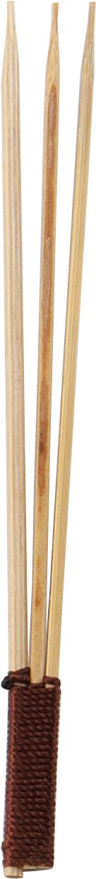Solia VO11212 Bamboo Trident Skewer, 0.2'' Diameter x 3.26'' Height (Case of 2000)