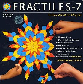 Fractiles-7 Gear Art And Craft Toys, 2017 Christmas Toys - Magnetic Tiling Toy