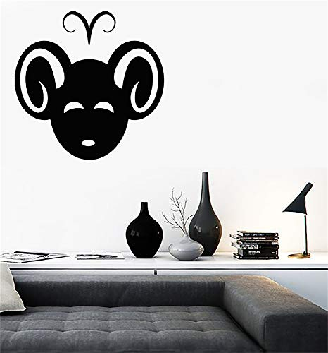 Quote Mirror Decal Quotes Vinyl Wall Decals Aries Symbol Zodiac Sign Horoscope