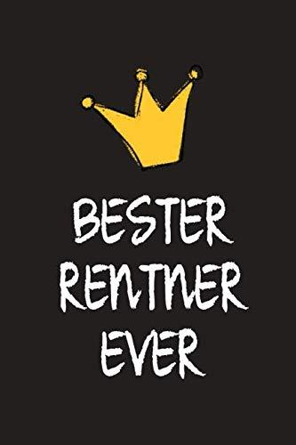 Bester Rentner: DIN A5 • 120 Seiten Punkteraster • Kalender • Notizbuch • Notizblock • Block • Terminkalender • Abschied • Abschiedsgeschenk • Ruhestand • Arbeitskollege • Geburtstag (German Edition) (Brille Billig)