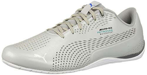 (PUMA Men's Drift Cat 5 Ultra Sneaker, Mercedes Team Silver-Smoked Pearl, 11 M US)