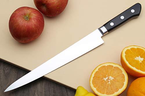 Yoshihiro 240mm Inox Sujihiki Japanese Chef Knife, 9.5-Inch by Yoshihiro (Image #3)