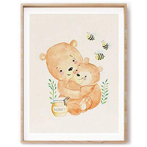 Nursery Wall Art | Nursery Print | Nursery Décor | Unframed Wall Art | Nursery Wall Décor | Art Prints | Baby Girl | Baby Boy | Kid's Room | -