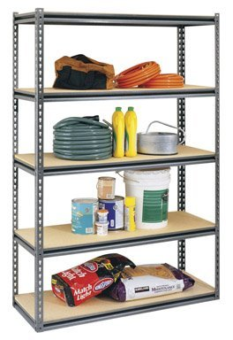 Casa Solutions Rack 36''W X 18'' D X 72'' H 1.5'' 1000 Lb Steel Black Boxed Home