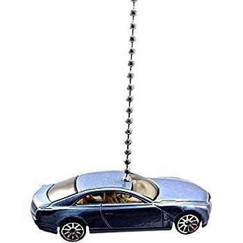 CTR Customs Hot Wheels Mazda Diecast Car Ceiling Fan Light Pull Ornament Blue Mazda RX-7