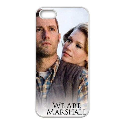 We Are Marshall 1 coque iPhone 4 4S cellulaire cas coque de téléphone cas blanche couverture de téléphone portable EOKXLLNCD20697