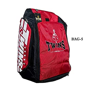 Image of Boxing Twins Special Backpack Gym Bag Bag-5 Red Boxing Equipment Muay Thai MMA K1 Kickboxing