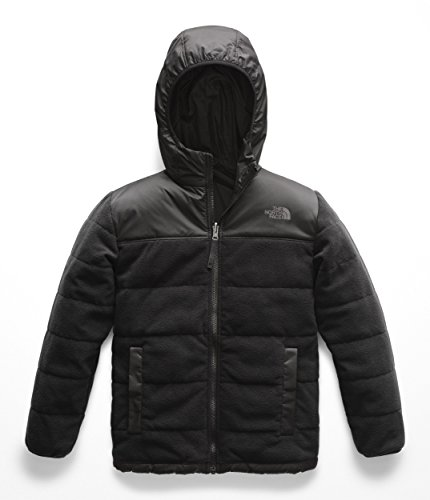 - The North Face Boys' Reversible True Or False Jacket, TNF Black/TNF Black - S