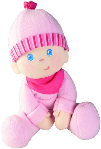 "HABA Snug-up Dolly Luisa 8"" My First Baby Doll - Machine Was"