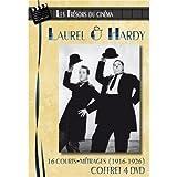 Les Trésors du cinéma : Laurel & Hardy - Volume 1 à 4 - 16 courts-métrages (1916-1926) - Coffret 4 DVD