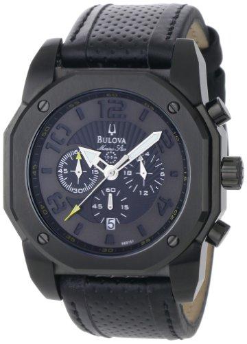 Bulova Men's 98B151 Marine Star Black on Black Color Scheme Watch ()
