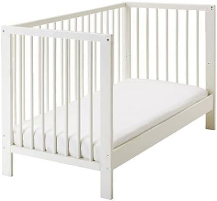 Cuna Gulliver de Ikea, blanca, 60 x 120 cm