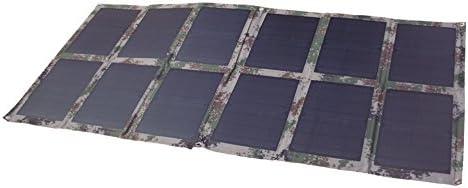 GGX ENERGY Cargador de Panel Solar Plegable de 120 W para batería ...