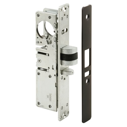 Slide-Co 153890-B Exit Door Dead Latch with Reversible Bo...