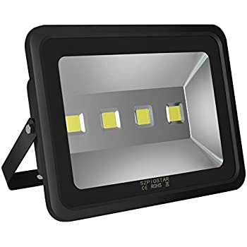 SZPIOSTAR 200W LED Flood Lights, Outdoor Light Fixture Cool White 6000K,Super Bright 20000lm,1200 Watt Equivalent, 50,000 Hrs Lifetime,Waterproof IP65, Security Floodlight